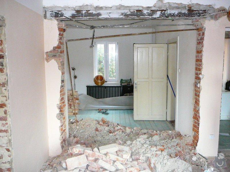 Přestavba bytu: 1
