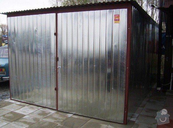 Plechová garáž: SSA40164