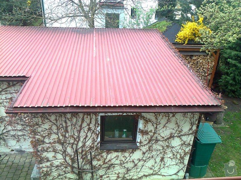 Montáž solárního ohřevu AVENBERG SE 100 na střechu garáže + rozvod  : strecha-garaze