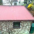 Montaz solarniho ohrevu avenberg se 100 na strechu garaze roz strecha garaze