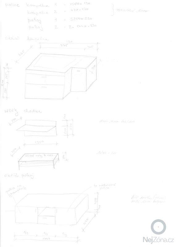 Výroba nábytku na míru, police, skříň, věšáky, lavice: Mw-nabytek