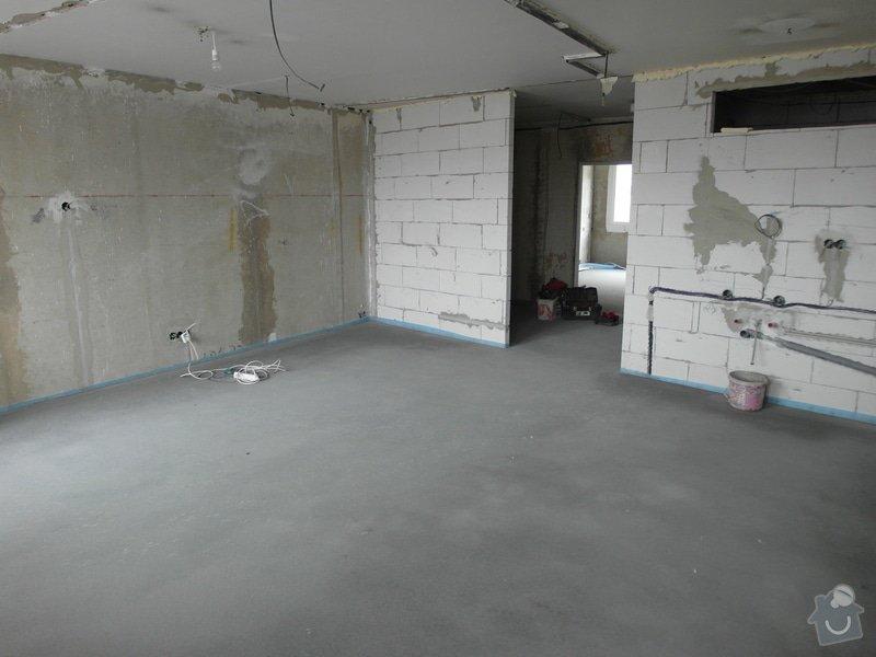 Srovnání hrubé podlahy v bytě: SAM_0053