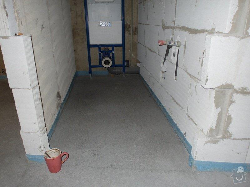Srovnání hrubé podlahy v bytě: SAM_0057