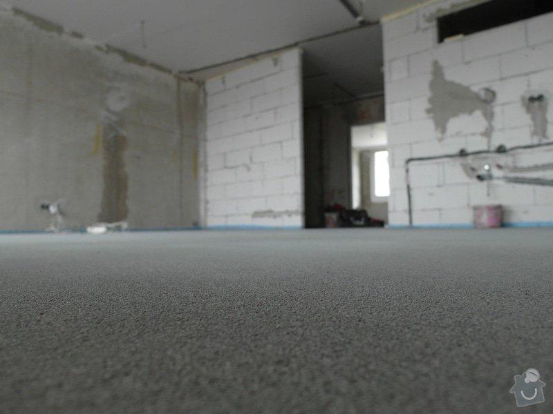 Srovnání hrubé podlahy v bytě: SAM_0062