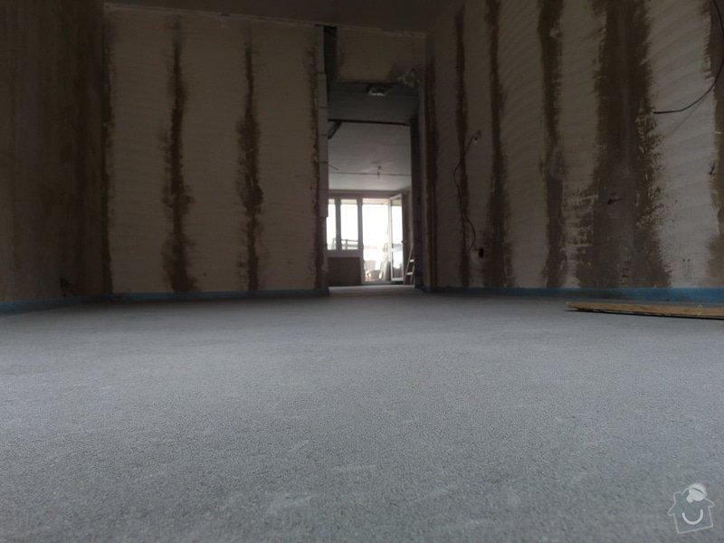 Srovnání hrubé podlahy v bytě: SAM_0064