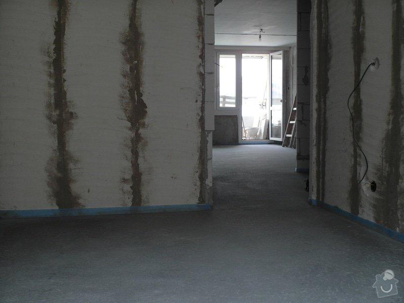 Srovnání hrubé podlahy v bytě: SAM_0065