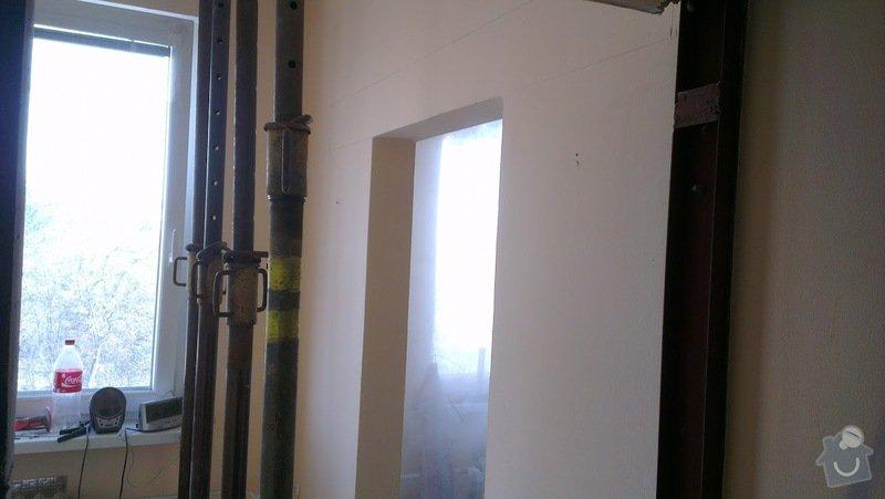 Rekonstrukce panelového bytu 4+1, bourací práce, rozvody el. (bytové jádro): IMAG0012