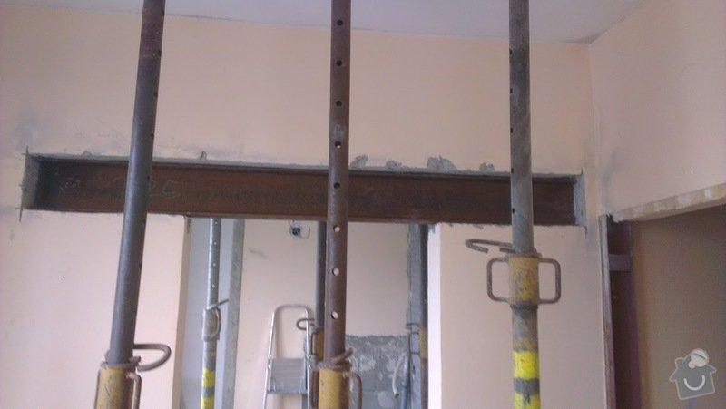 Rekonstrukce panelového bytu 4+1, bourací práce, rozvody el. (bytové jádro): IMAG0013