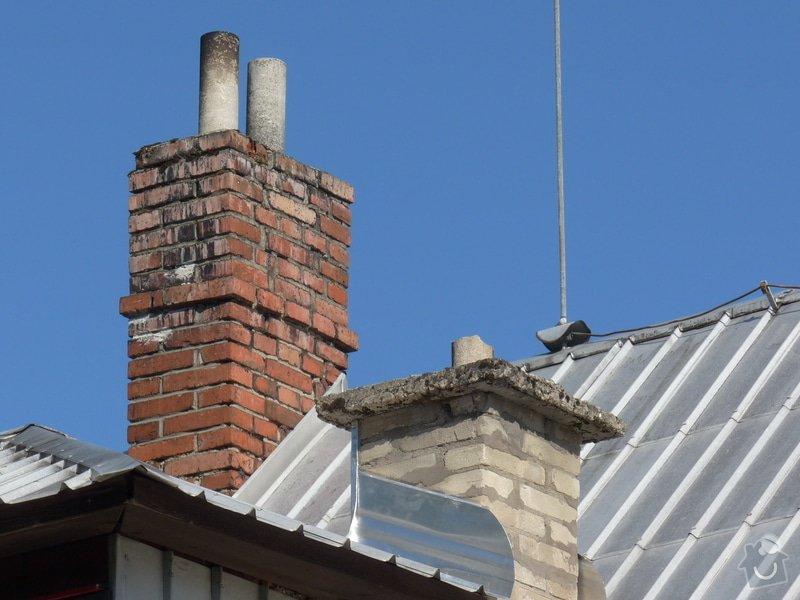 Stavba komína rodinného domu: P1110256