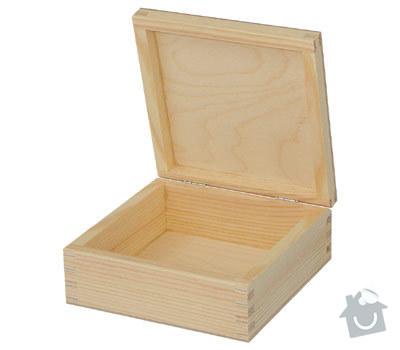 Truhlářské práce - Výroba krabičky 15×15×6 cm: Krabicka_15156