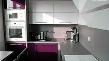 Kuchyňská linka a vestavěná skříň