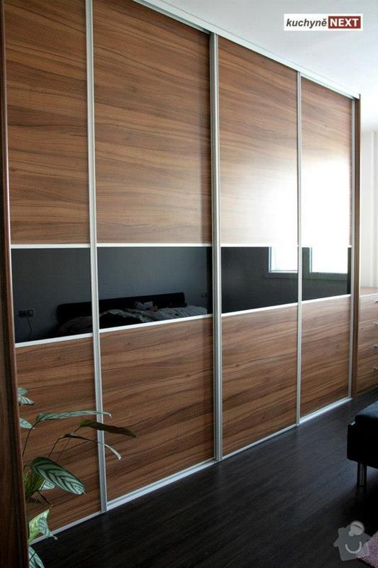 Kuchyňská linka a vestavěná skříň: S3