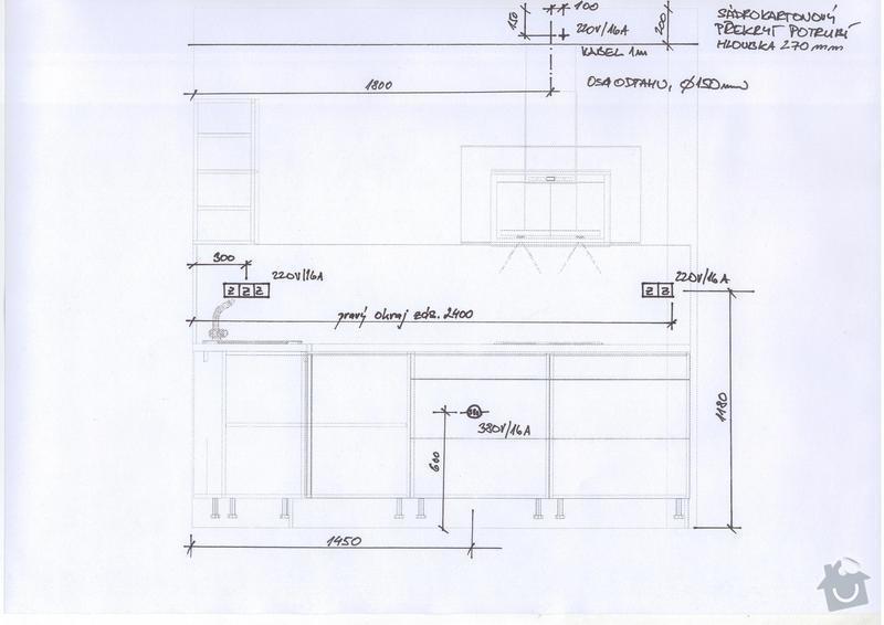 Kuchyňská linka a vestavěná skříň: Save0193