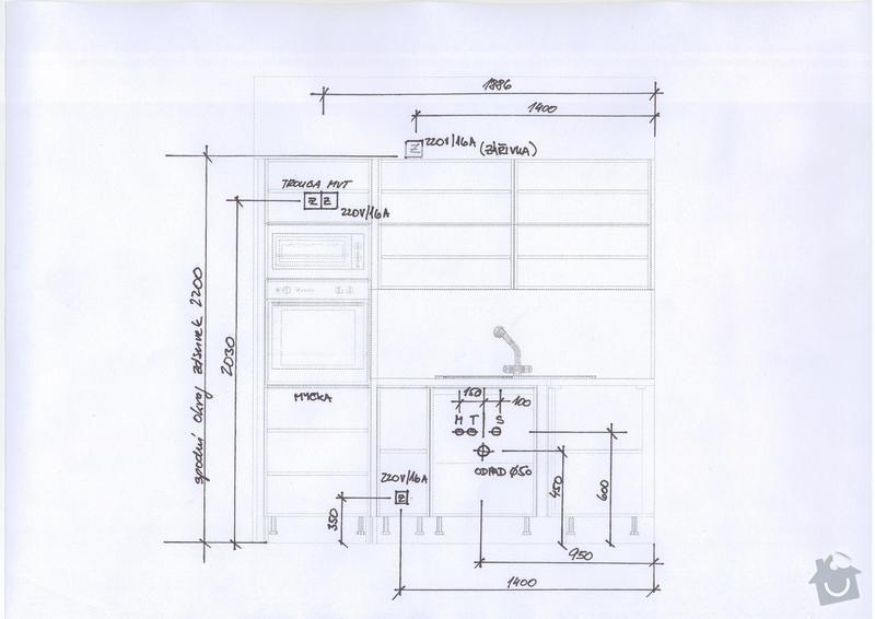 Kuchyňská linka a vestavěná skříň: Save0194