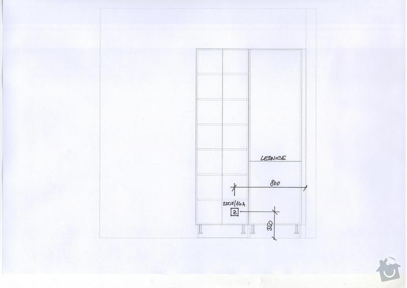 Kuchyňská linka a vestavěná skříň: Save0195