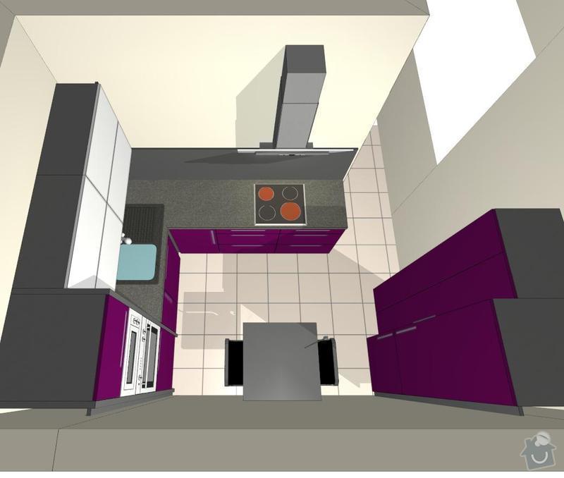 Kuchyňská linka a vestavěná skříň: Save0196
