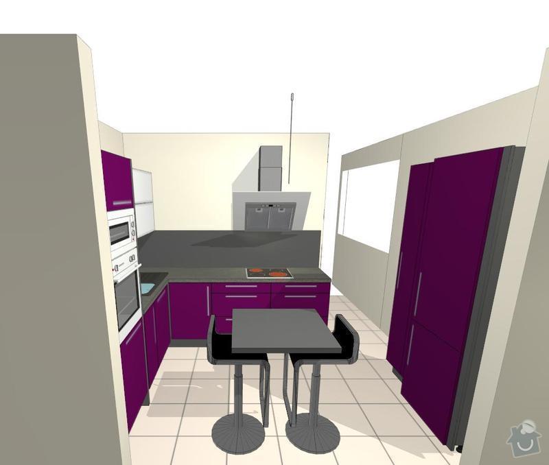 Kuchyňská linka a vestavěná skříň: Save0197