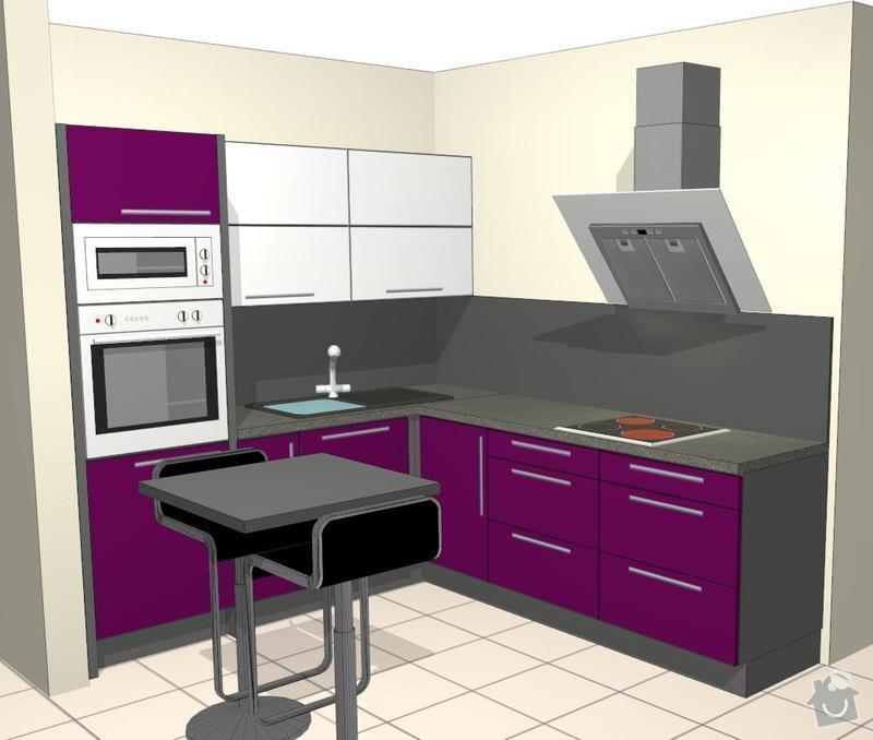 Kuchyňská linka a vestavěná skříň: Save0198