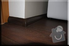 Vyrovnání samonivelační stěrkou, lepení PVC, lištování: galerie4m