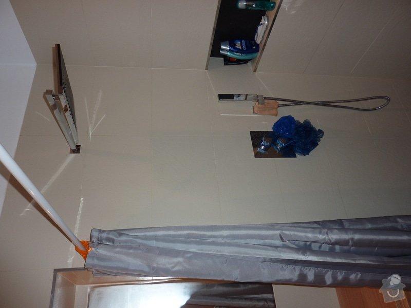 Zasklení sprchového koutu: P1030523