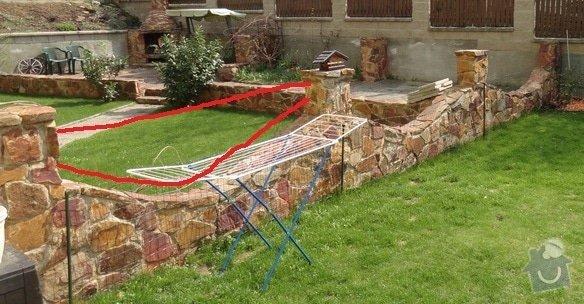Základ pro plotové pole, materiál jekl, Praha - Horní Počernice: zhotoveni-plotu_DSC03240