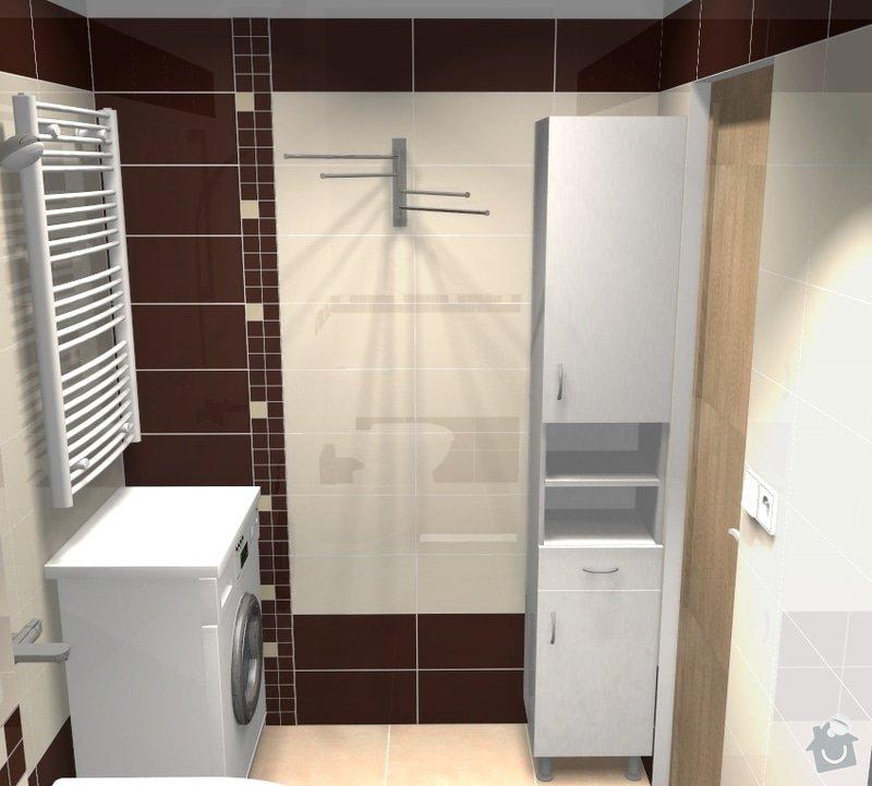 Rekonstrukce bytového jádra: 004_var4_pohled5