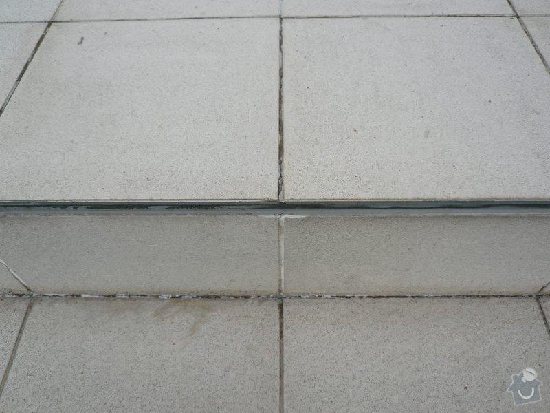 Oprava venkovního schodiště u RD v Praze: schody_1