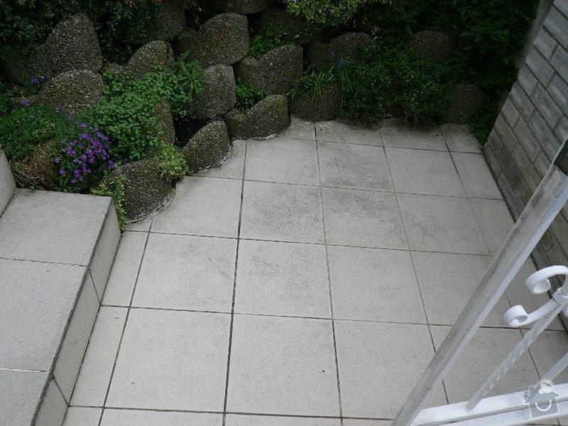 Oprava venkovního schodiště u RD v Praze: schody_5