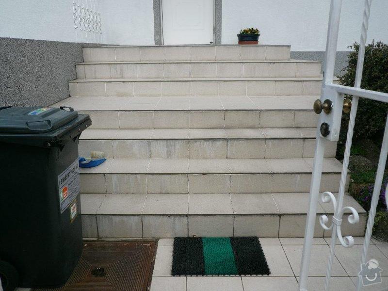 Oprava venkovního schodiště u RD v Praze: schody_3