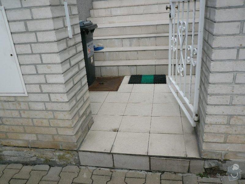 Oprava venkovního schodiště u RD v Praze: schody_4
