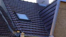 Rekonstrukce 1/2 střechy