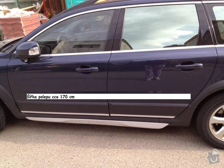 Polep 2 firemních automobilů Volvo: VolvoXC70_polep02