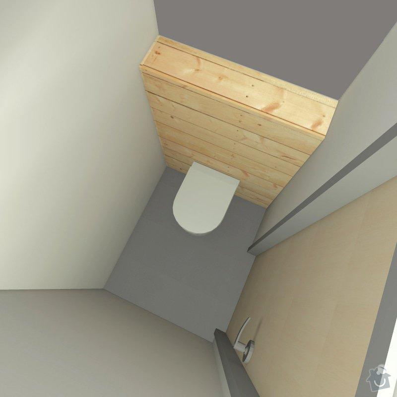 Rekonstrukce wc, koupelny a chodby: 5