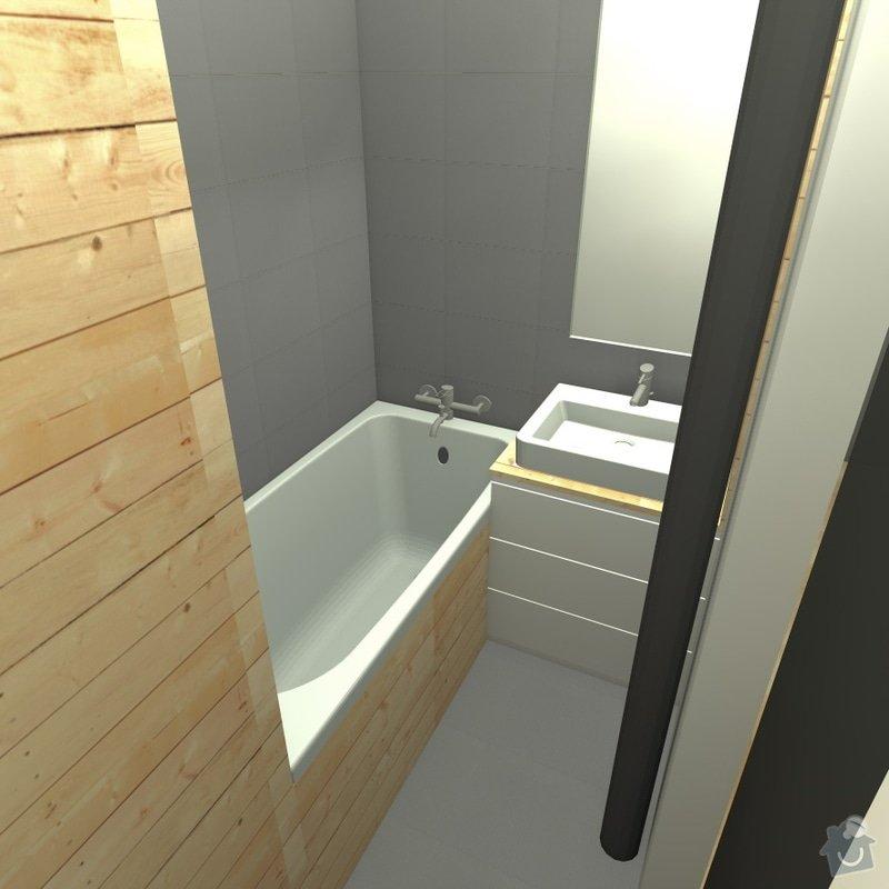 Rekonstrukce wc, koupelny a chodby: 6