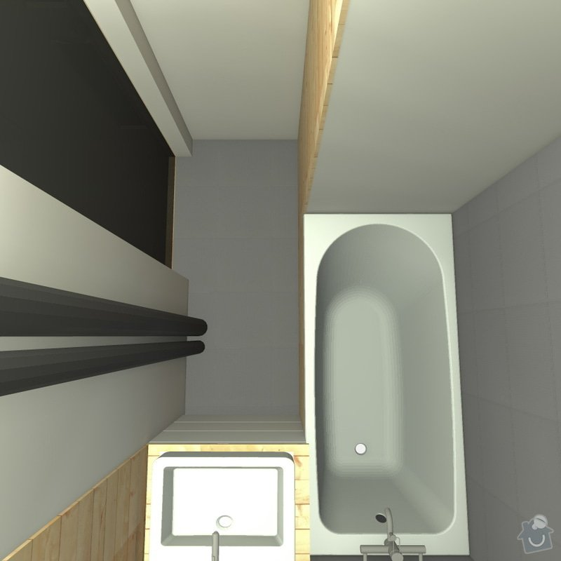 Rekonstrukce wc, koupelny a chodby: 9