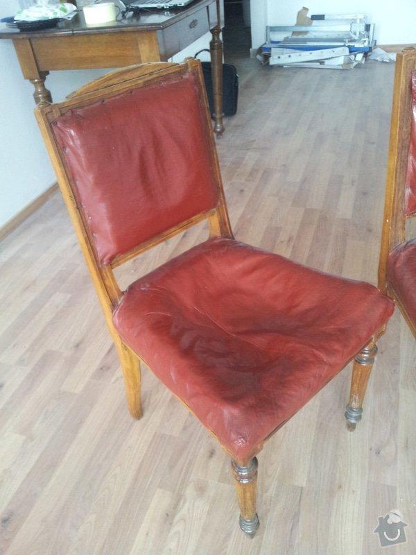 Přečalounění židlí: 20130507_090033