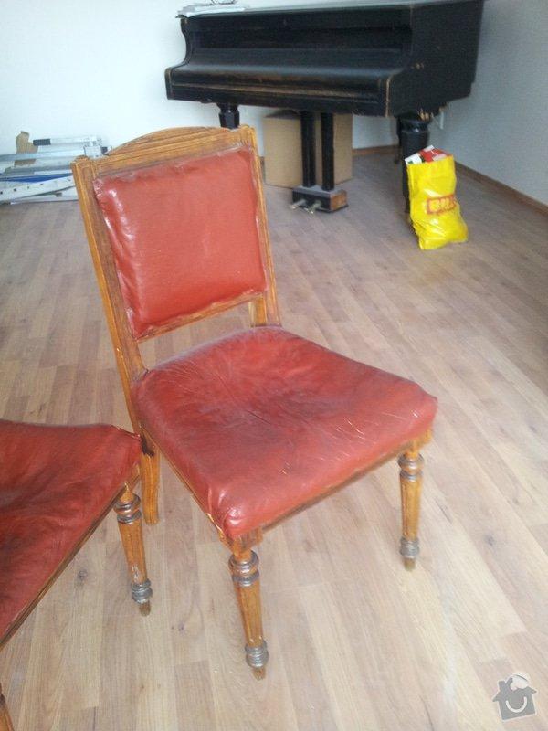 Přečalounění židlí: 20130507_090025