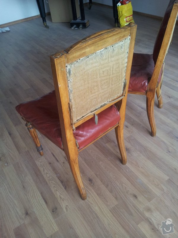 Přečalounění židlí: 20130507_090002