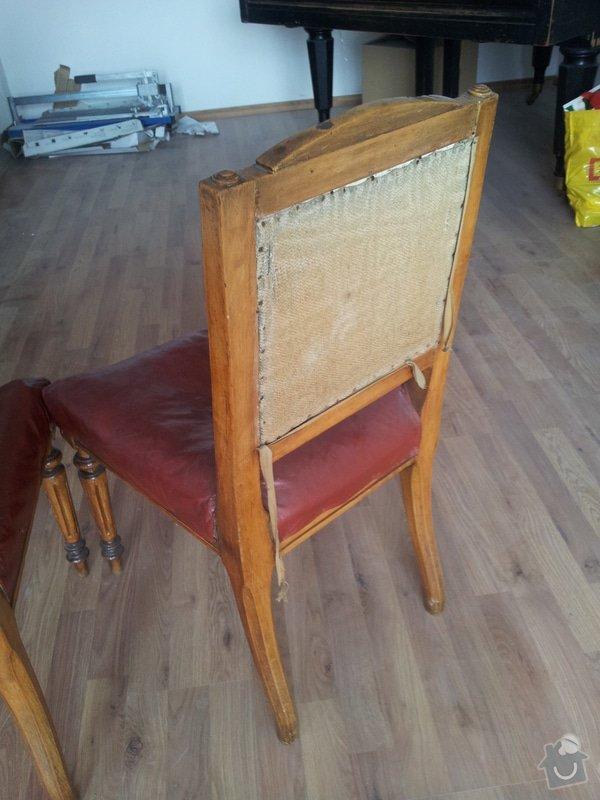 Přečalounění židlí: 20130507_090009