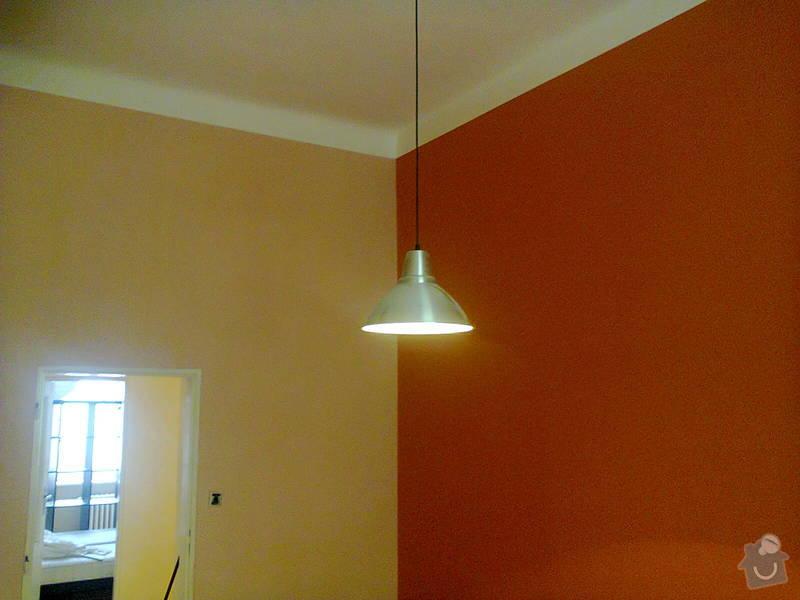 Malířské práce (2 pokoje): malovani