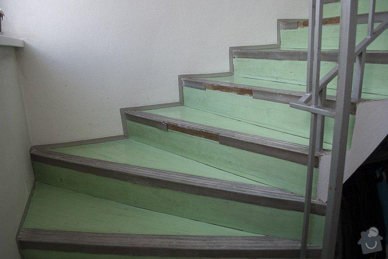 Polozeni PVC podlahy na schodiste: 02