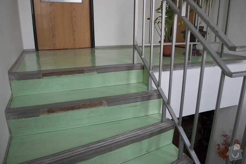 Polozeni PVC podlahy na schodiste: 03