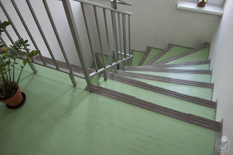 Polozeni PVC podlahy na schodiste: 04