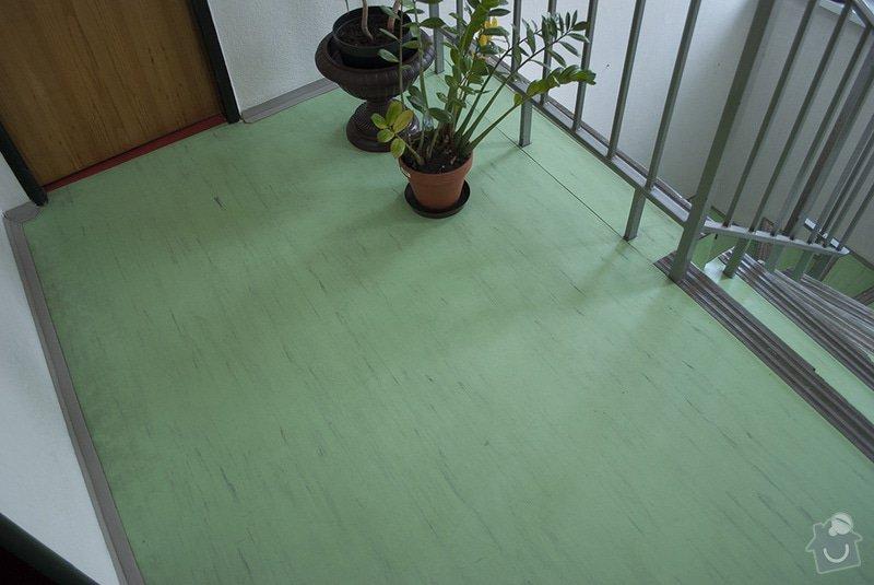 Polozeni PVC podlahy na schodiste: 05