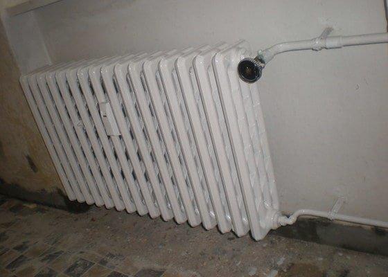 Renovace litinového topení