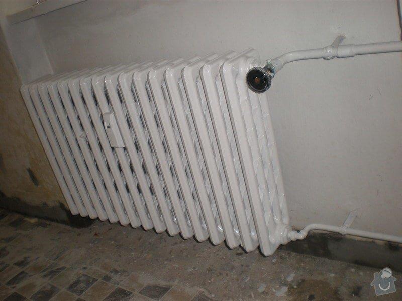 Renovace litinového topení: P5071320