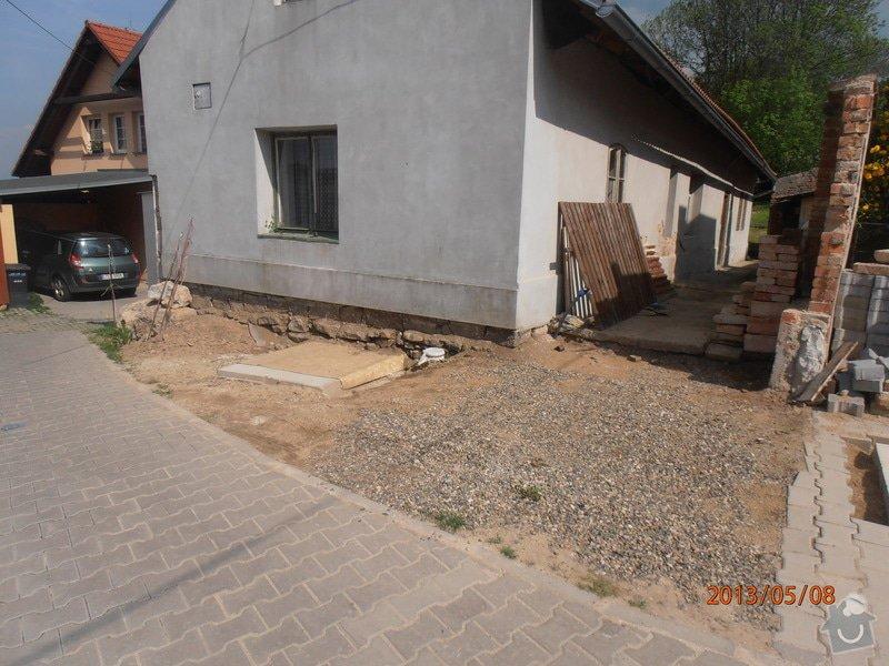 Pokládka zámkové dlažby cca 15 m2: P5080002