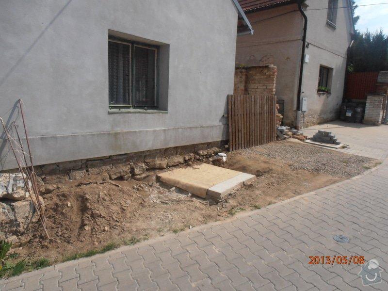 Pokládka zámkové dlažby cca 15 m2: P5080008