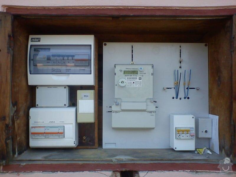 Příprava přípojného místa pro elektroměr s HDO: DSC01075