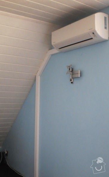 Koupe/instalace klimaticaze do loznice RD: P5040229